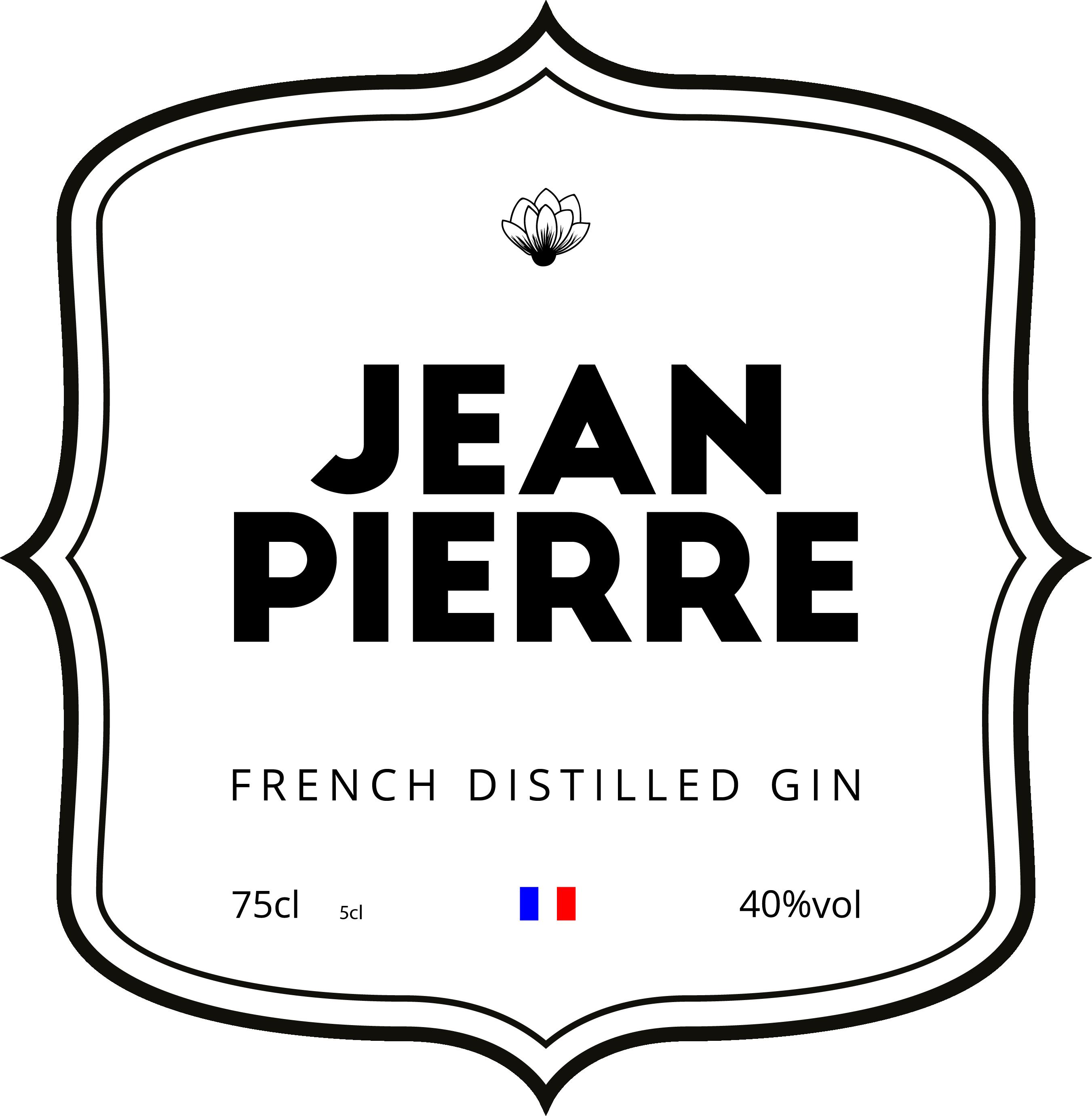 Gin jean pierre Logo - Elise BASSET - Freelance à Caen