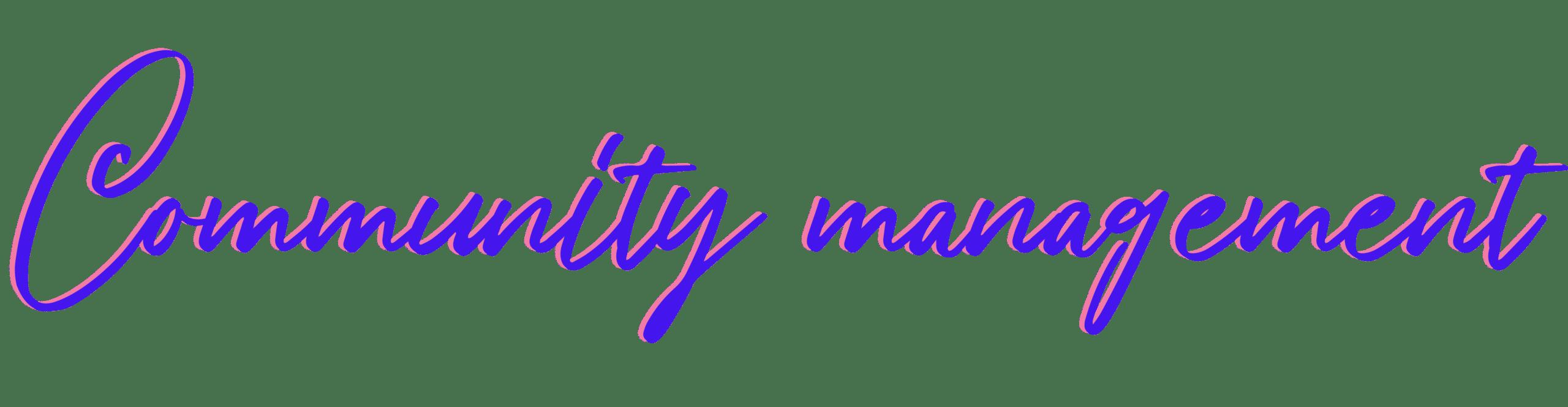 Élise basset community management